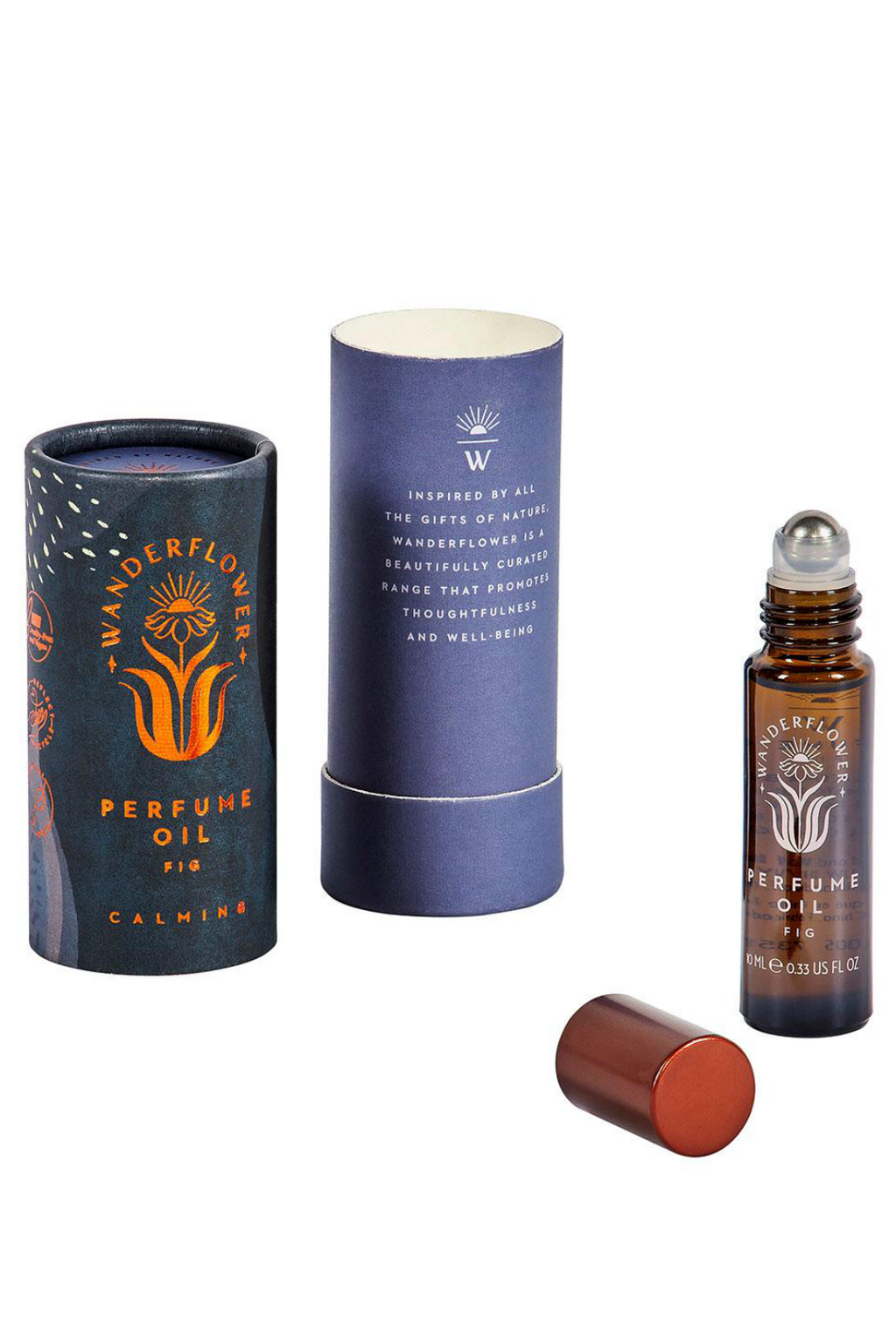 Wild & Wolf Wanderflower Fig Roll-On Perfume