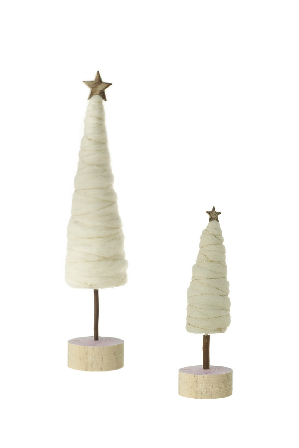 Accent Decor Wooly Trees