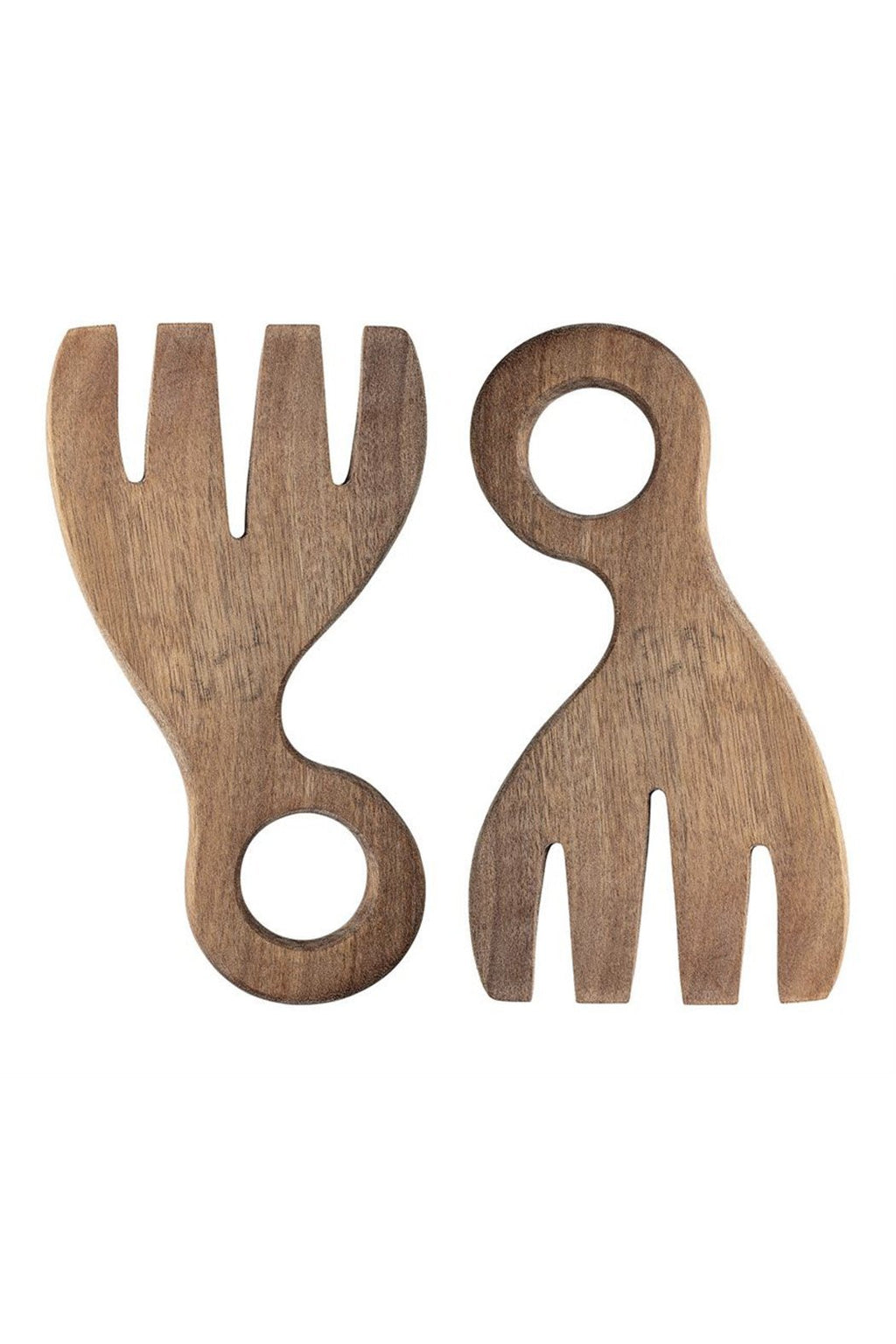 Bloomingville Acacia Wood Salad Servers
