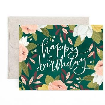 EcoVibe Style - Ambrose Happy Birthday Card, Stationary + Cards
