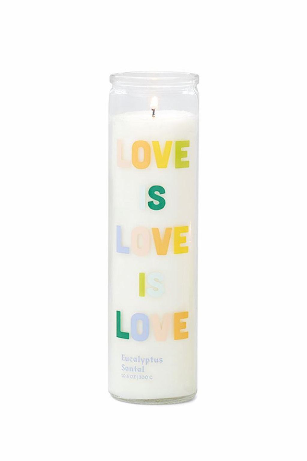Paddywax Love is Love Prayer Candle 10.6oz