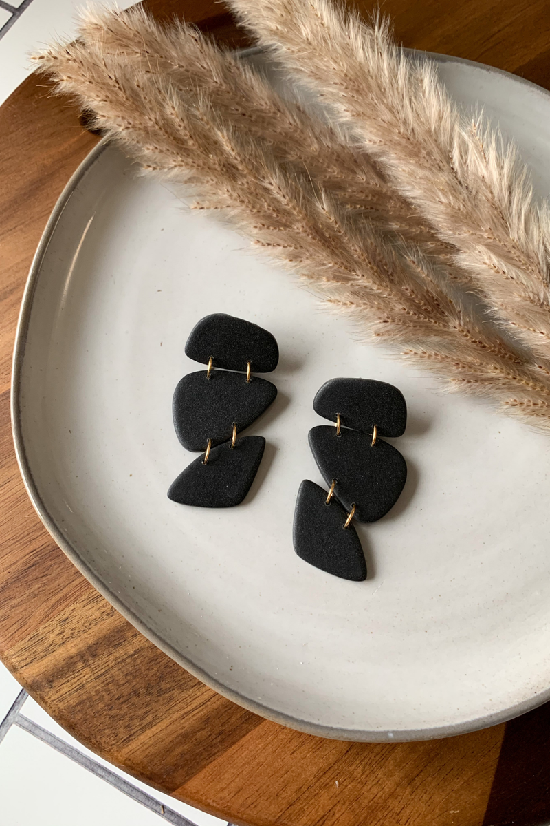 Sweet Nothings By Taniesha Katrina Earrings in Black