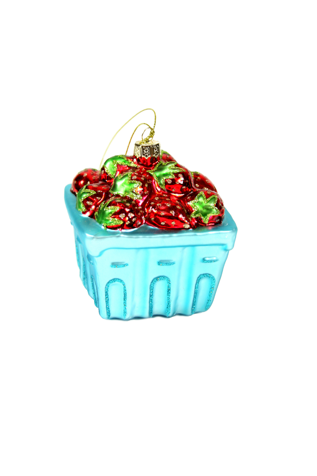 Cody Foster Strawberry Basket Ornament