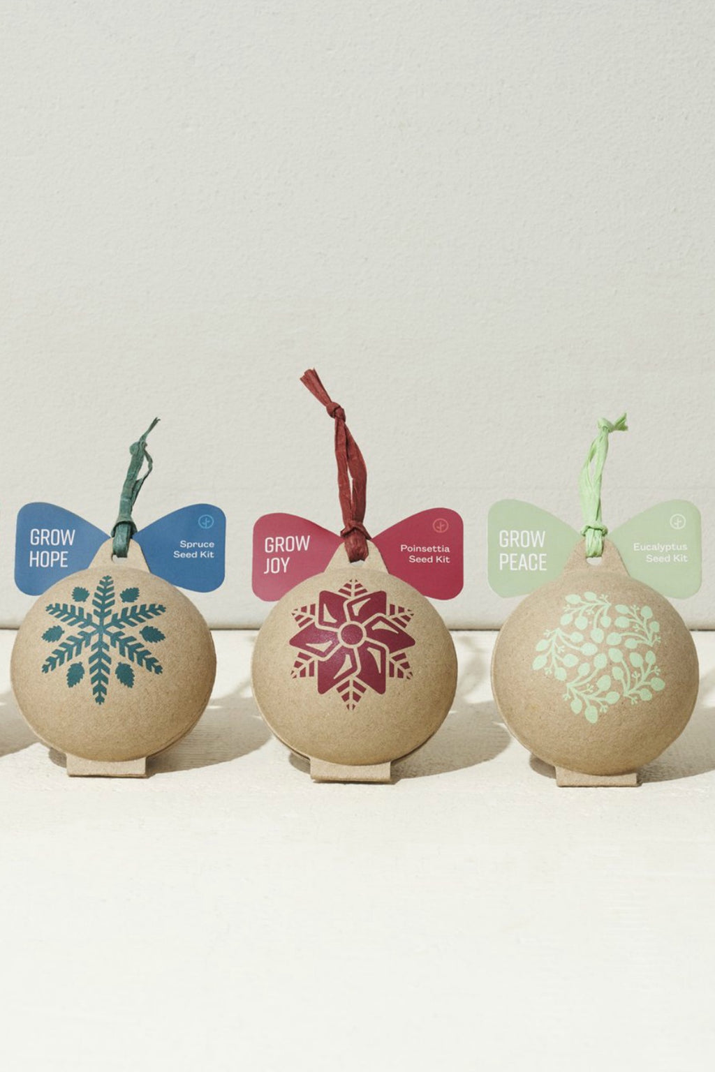 Modern Sprout Holiday Ornament Seed Kit