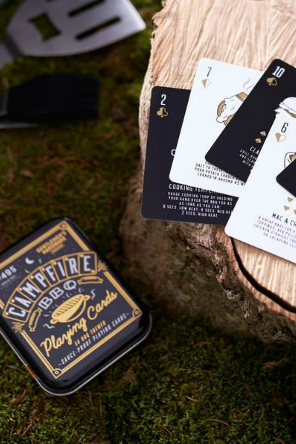 Wild & Wolf BBQ Playing Cards