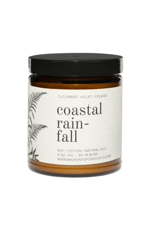 Broken Top Coastal Rainfall Soy Candle 9oz