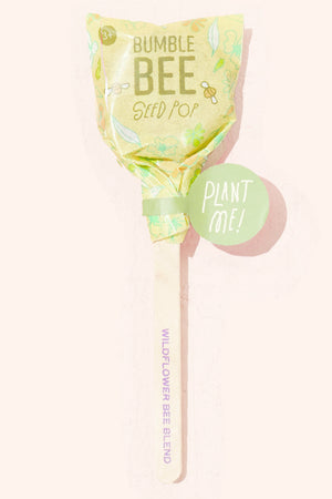 Modern Sprout Save Our Pollinators Seed Lollipop