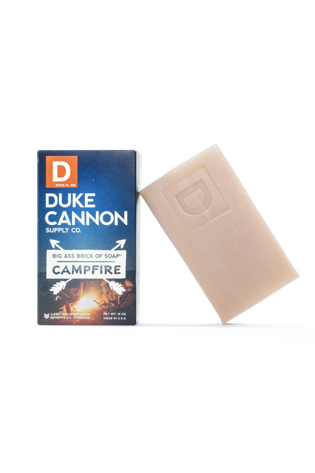 EcoVibe Style - Duke Cannon Big Ass Brick of Soap Campfire 10oz