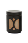 Paddywax Form Ceramic Candle with Lid, Palo Santo Suede