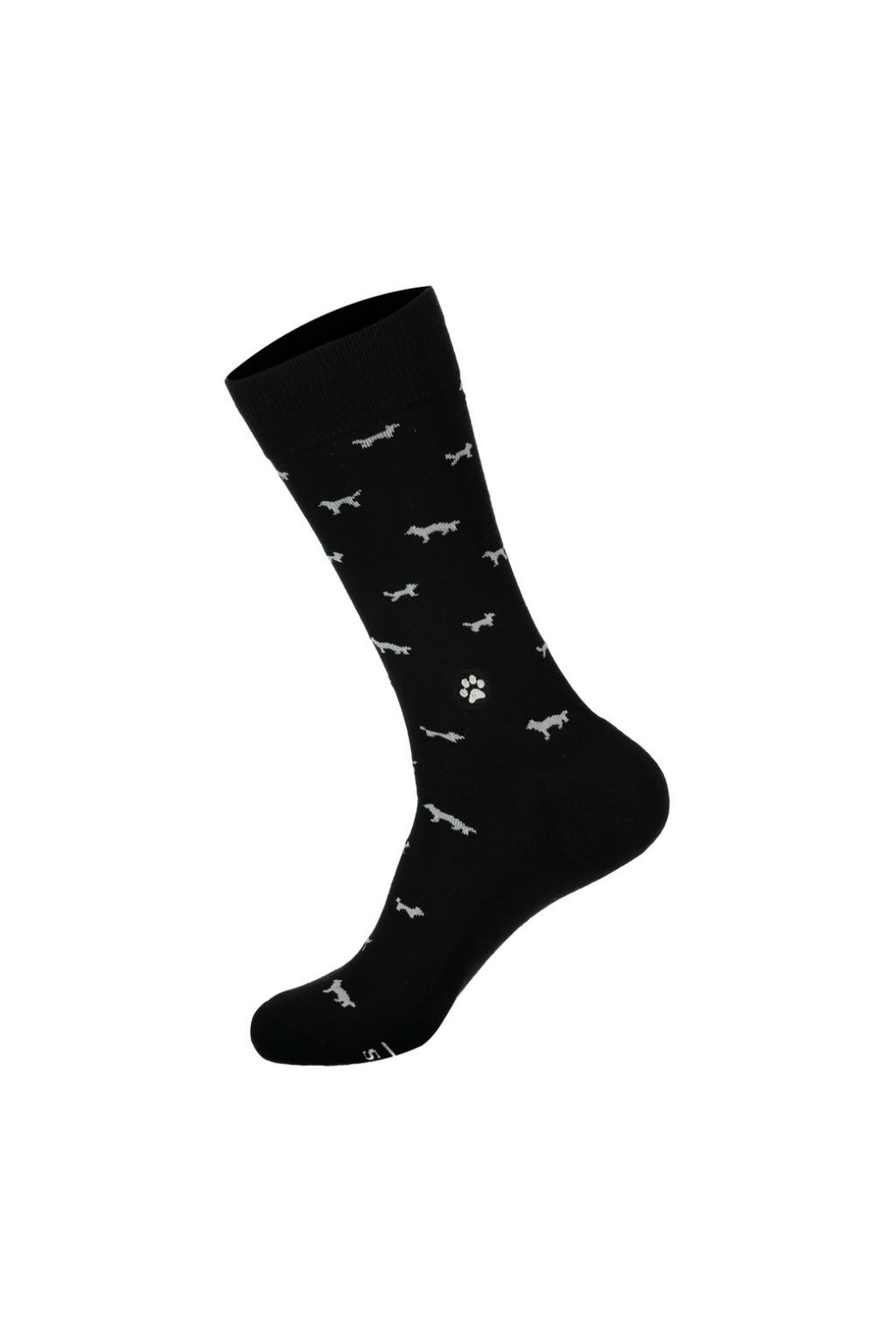 Conscious Step Socks that Save Dogs - Black