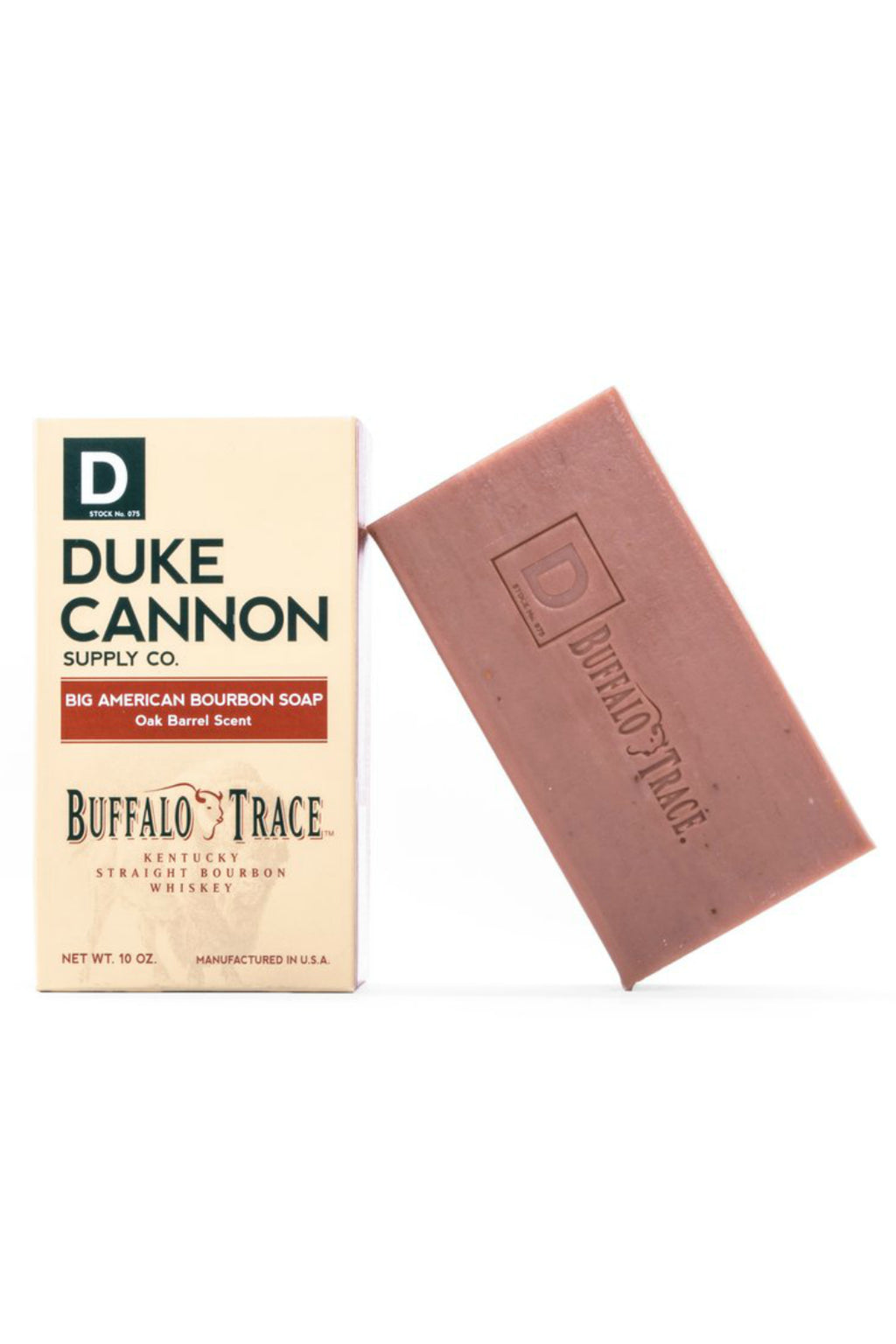 EcoVibe Style - Duke Cannon Big American Bourbon Soap, Gifts, Buffalo Trace 10oz