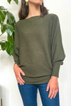 EcoVibe Brynn Sweater in Olive