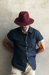 EcoVibe Maddi Wool Felt Safari Hat