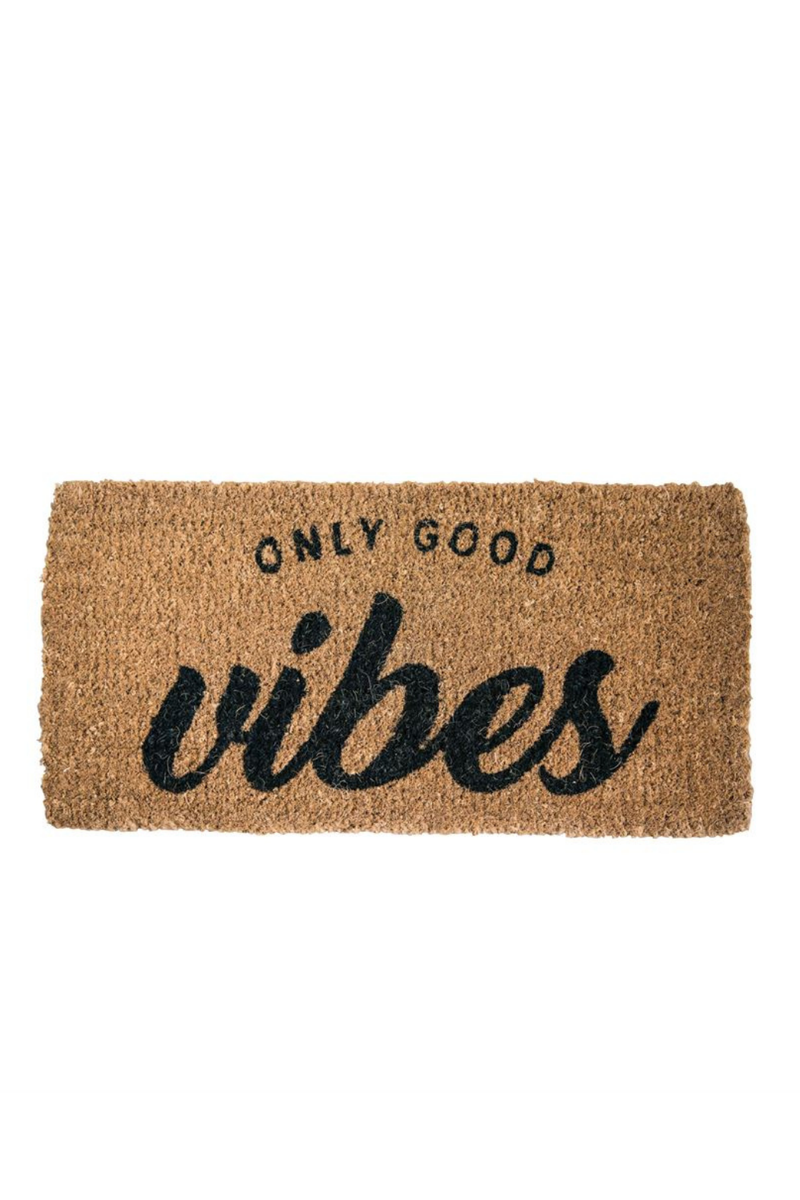 Bloomingville Only Good Vibes Doormat