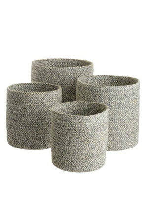 Texture by Design Ideas Melia Basket in Slate
