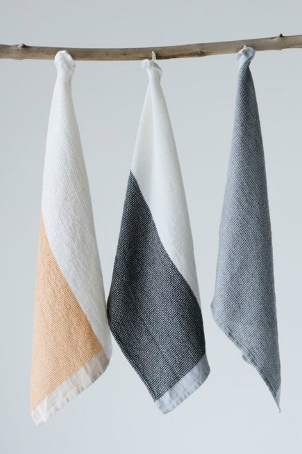 Creative Co-op Color Block Cotton Tea Towels