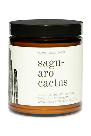 Broken Top Candle Company Saguaro Cactus Soy Candle 9oz