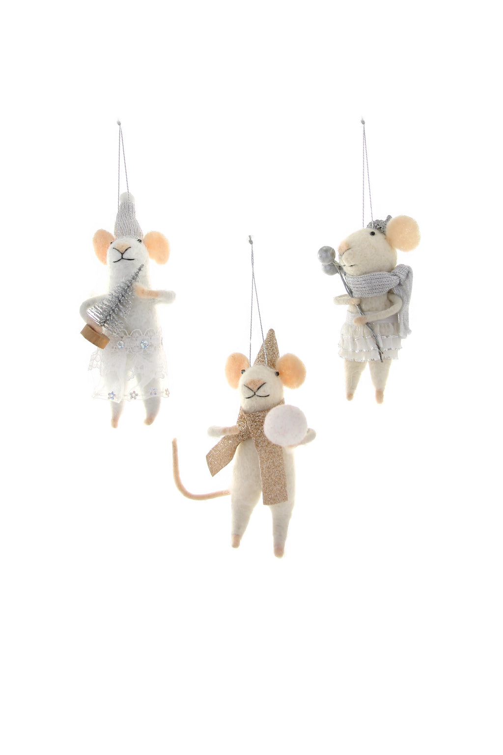 Cody Foster Wintertime Mouse Ornament