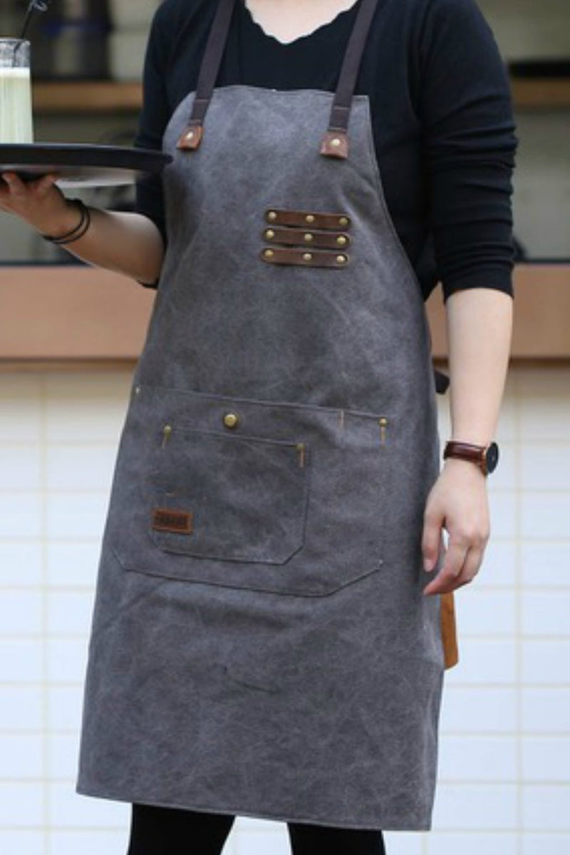 EcoVibe Canvas Work Apron