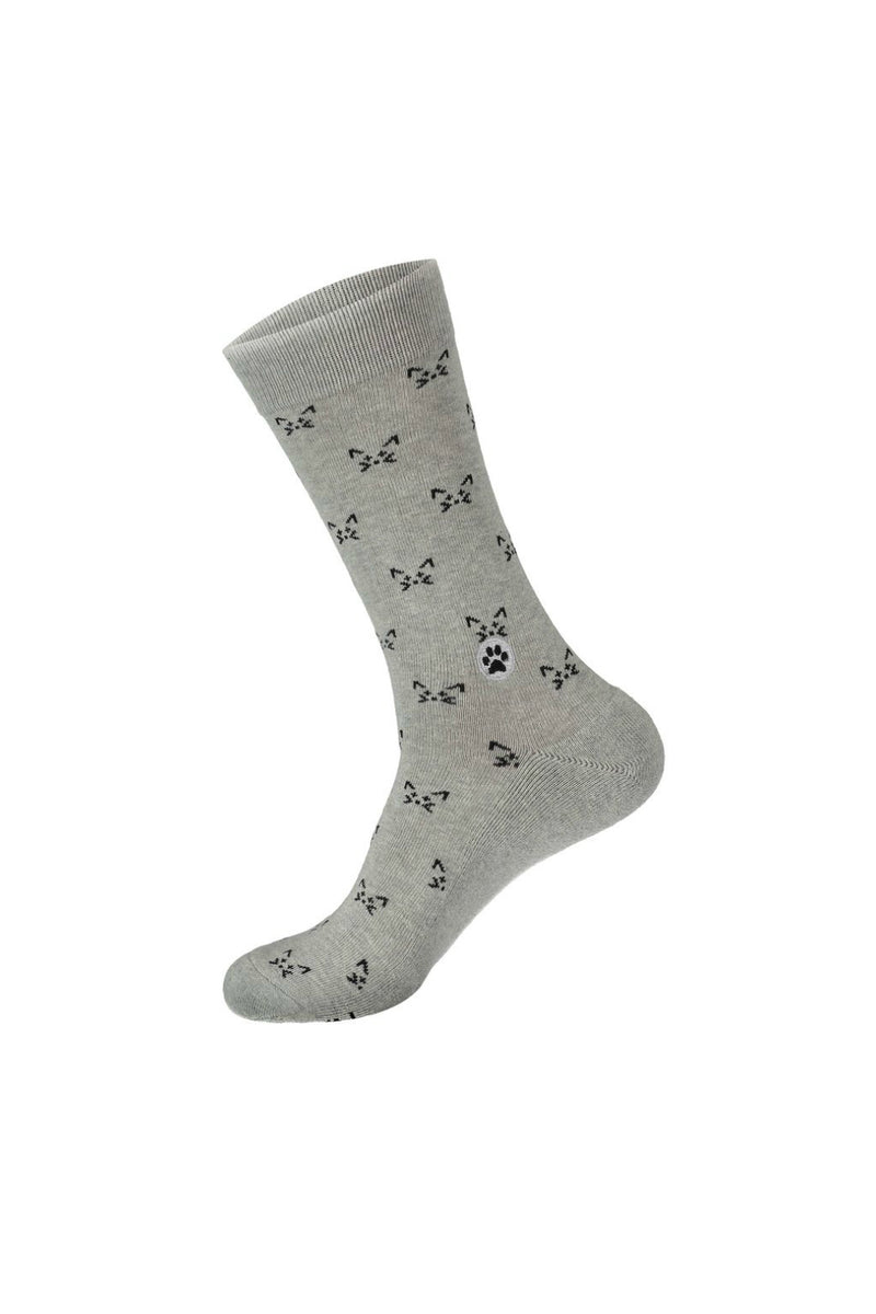 Conscious Step Socks that Save Cats - Grey