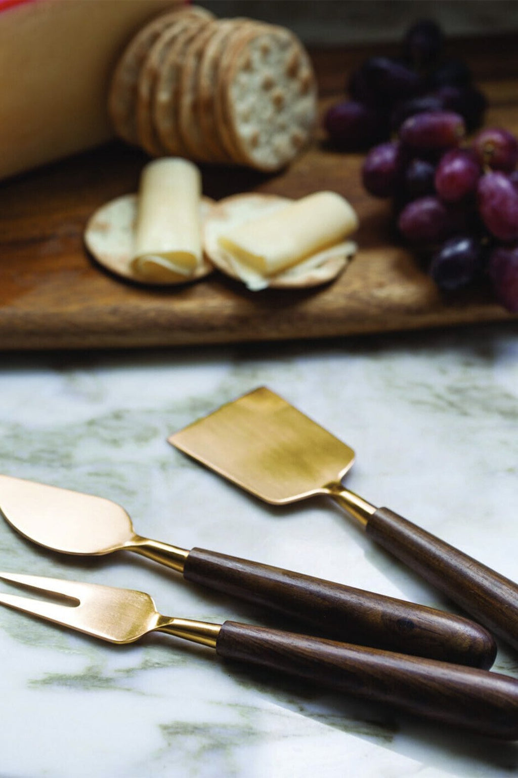 EcoVibe Style - Cheese Serving Set, Kitchenware