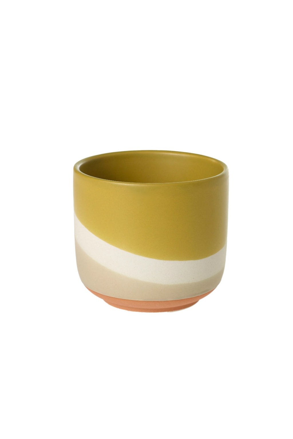 Accent Decor Colorway Pot, Mustard
