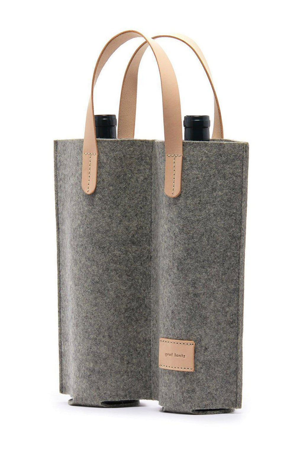 Graf Lantz Cozy Carrier Duo Felt Wine Bag