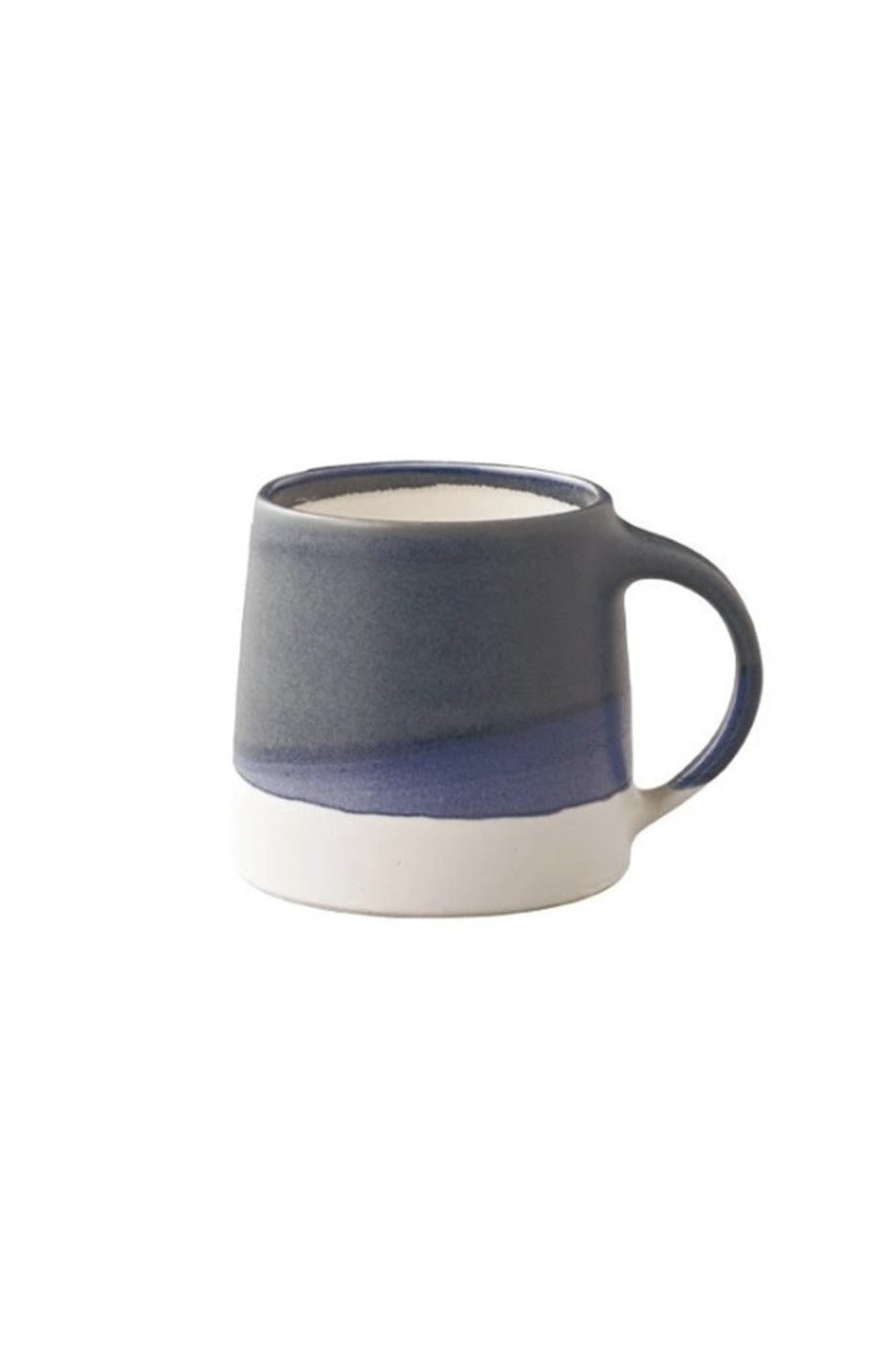 EcoVibe Style - Craftsmen Coffee Mug, Kinto USA | Navy/White