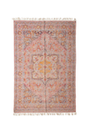 Creative Co-op Multicolor Distressed Print Rug DF4627