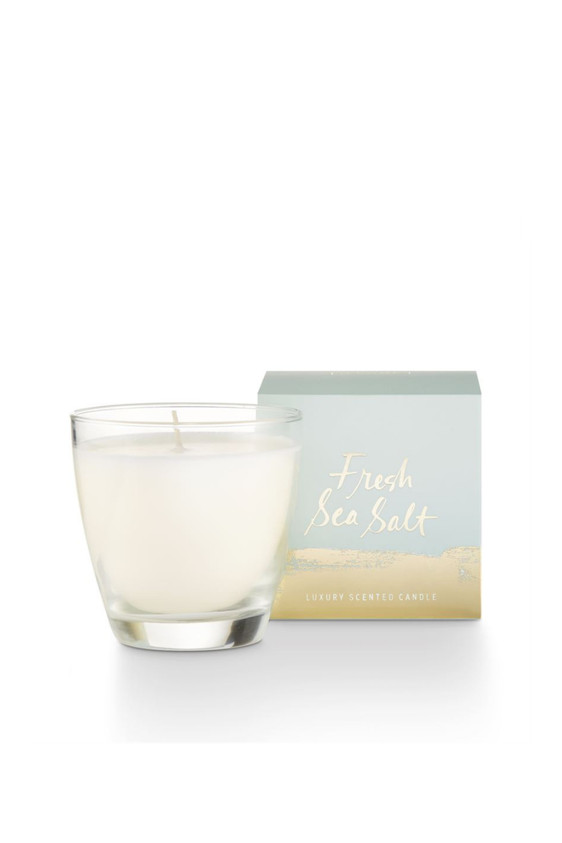 Illume Fresh Sea Salt Demi Boxed Glass Candle