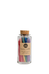 Knot & Bow Beeswax Birthday Candles in Rainbow