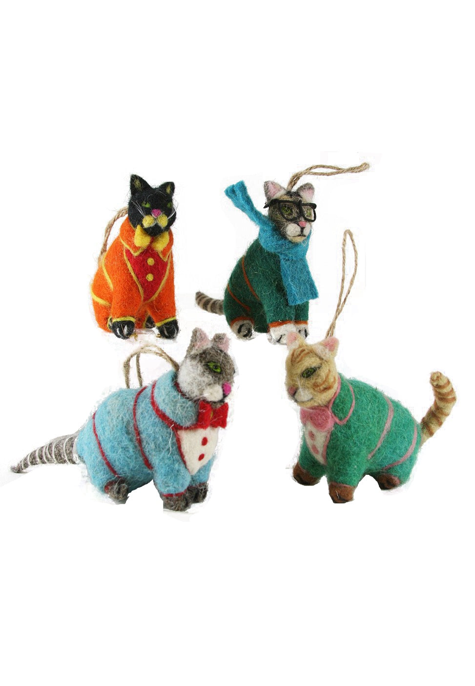 Cody Foster Sweater Kitten Ornament