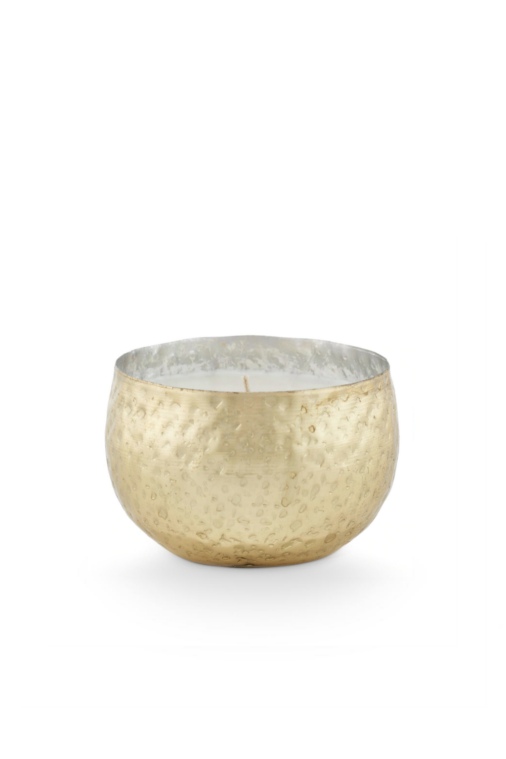Illume Noble Holiday Demi Iced Metal Candle Winter White
