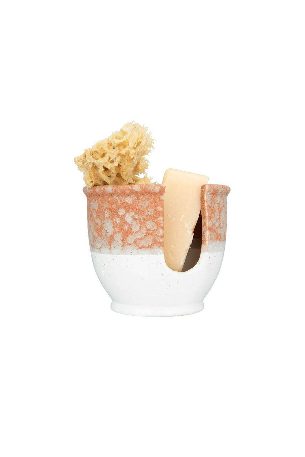 Creative Co-op Reactive Glaze Stoneware Sponge Holder