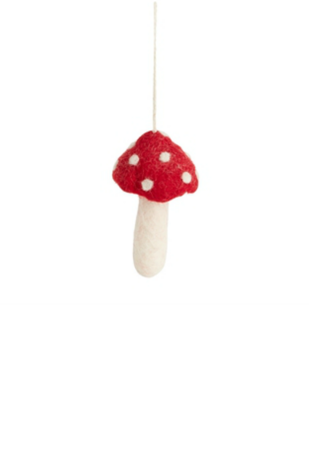 Accent Decor Dot Cap Fungi Ornament