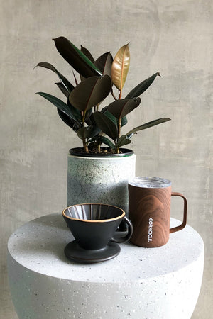 Bloomingville Stoneware Pour-Over Coffee Drip