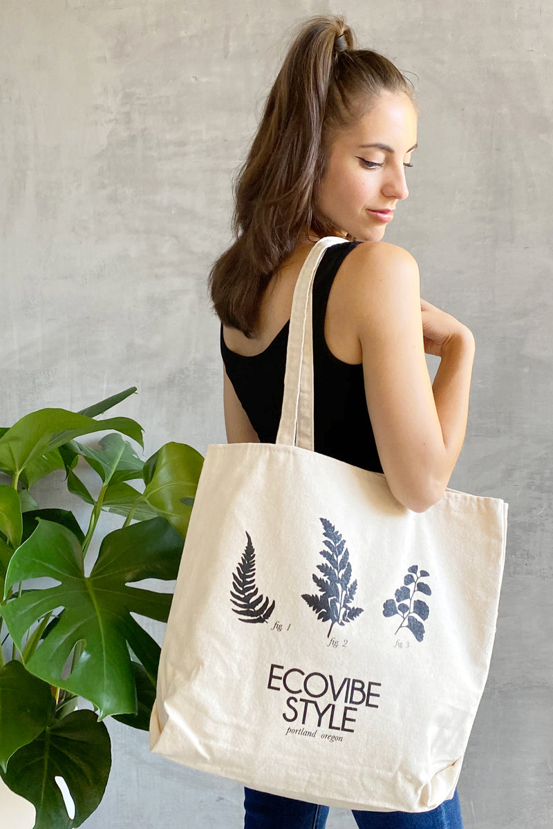 EcoVibe Style Canvas Tote Bag