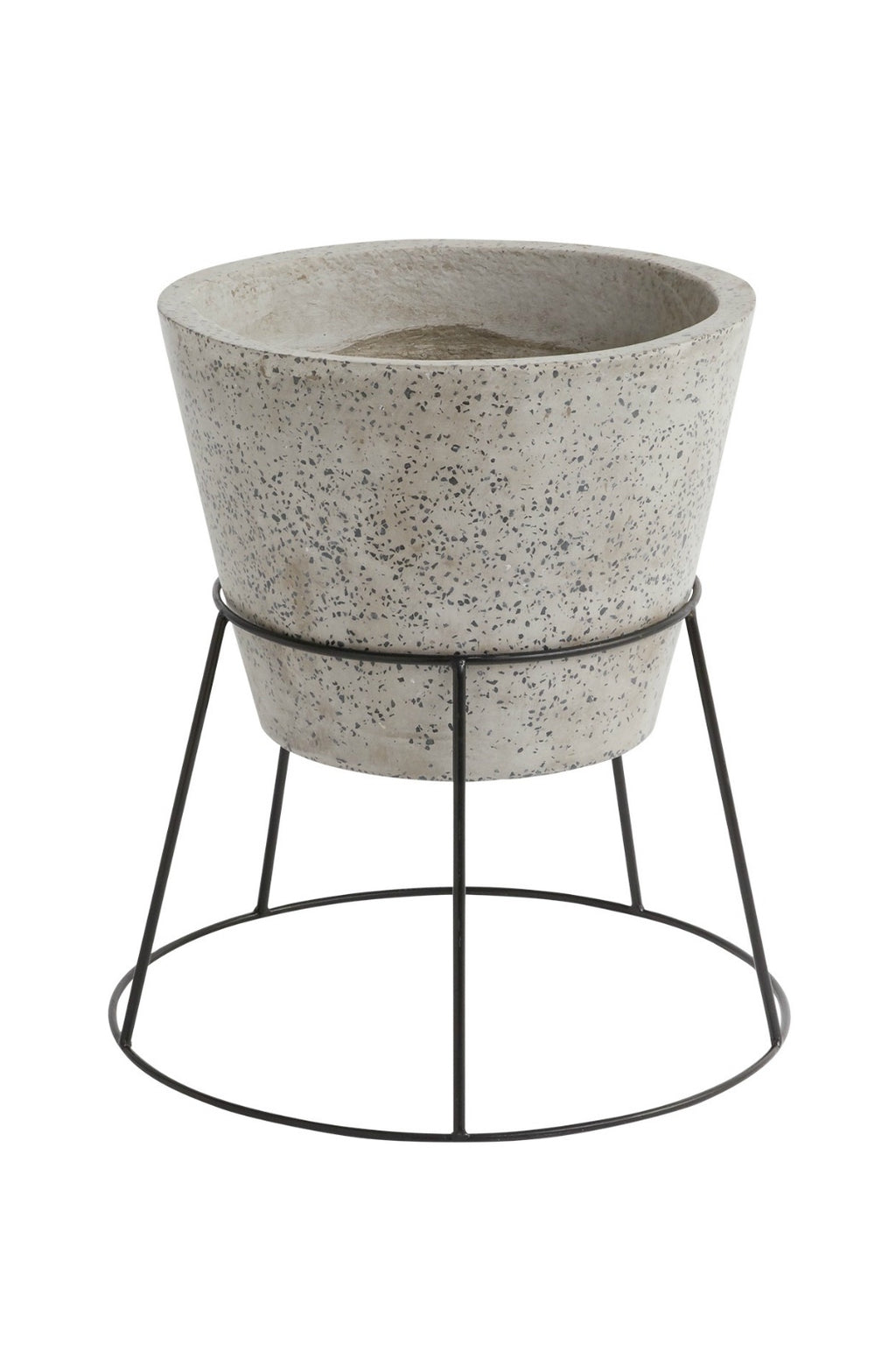 Accent Decor Filli Concrete Plant Stand