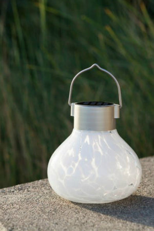 Allsop Handblown Glass Solar Tea Lantern