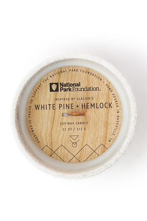 Paddywax National Park Candle - Glacier White Pine + Hemlock