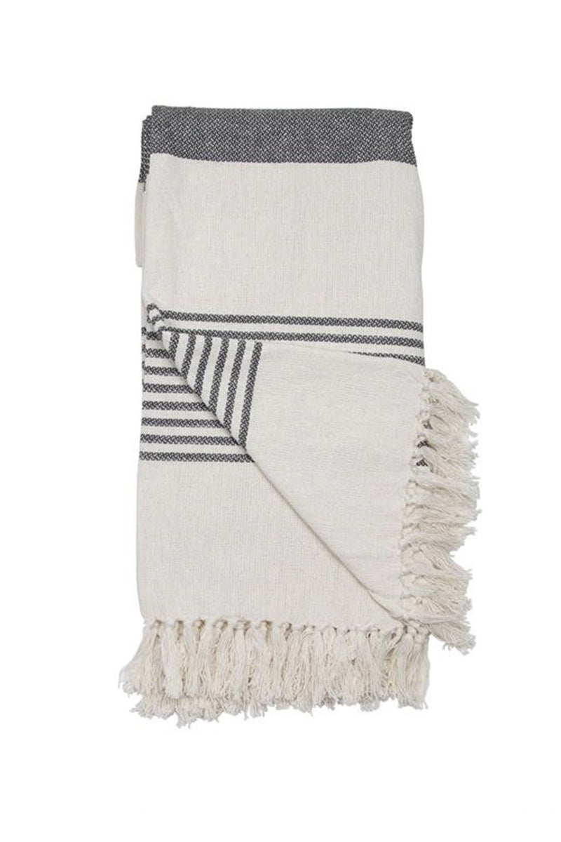 EcoVibe Style - Hand Woven Liz Throw, Pillows + Throws