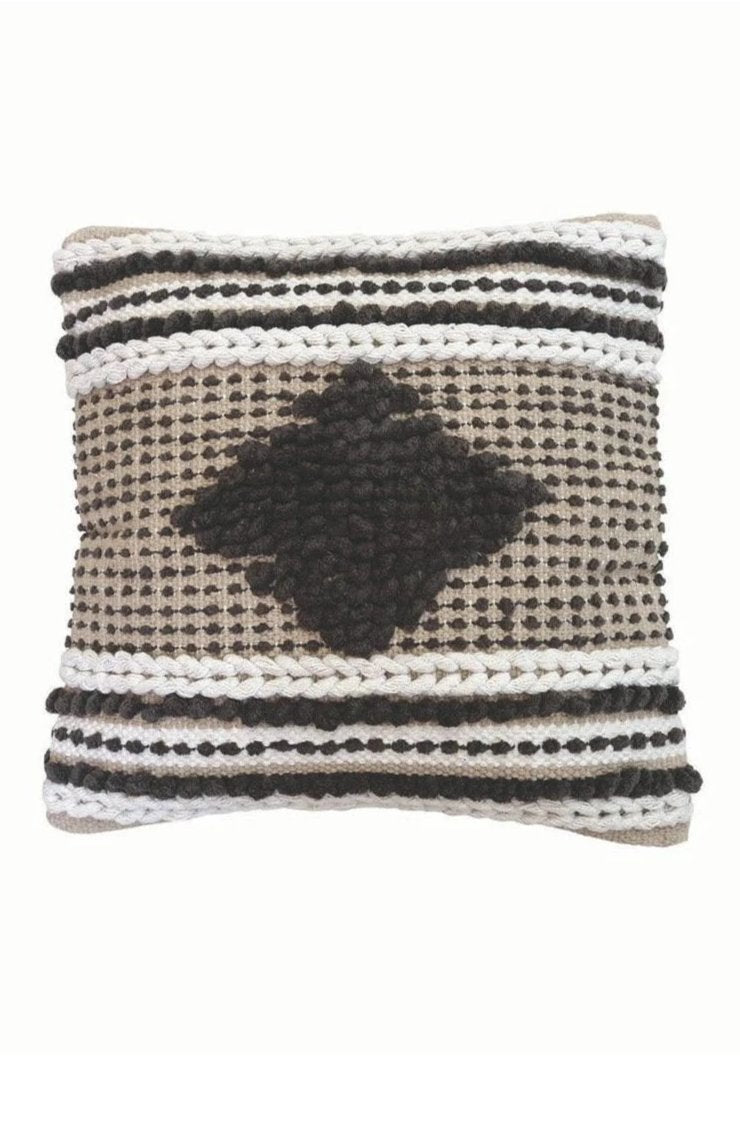 EcoVibe Style - Hand Woven Tate Pillow, Pillows + Throws