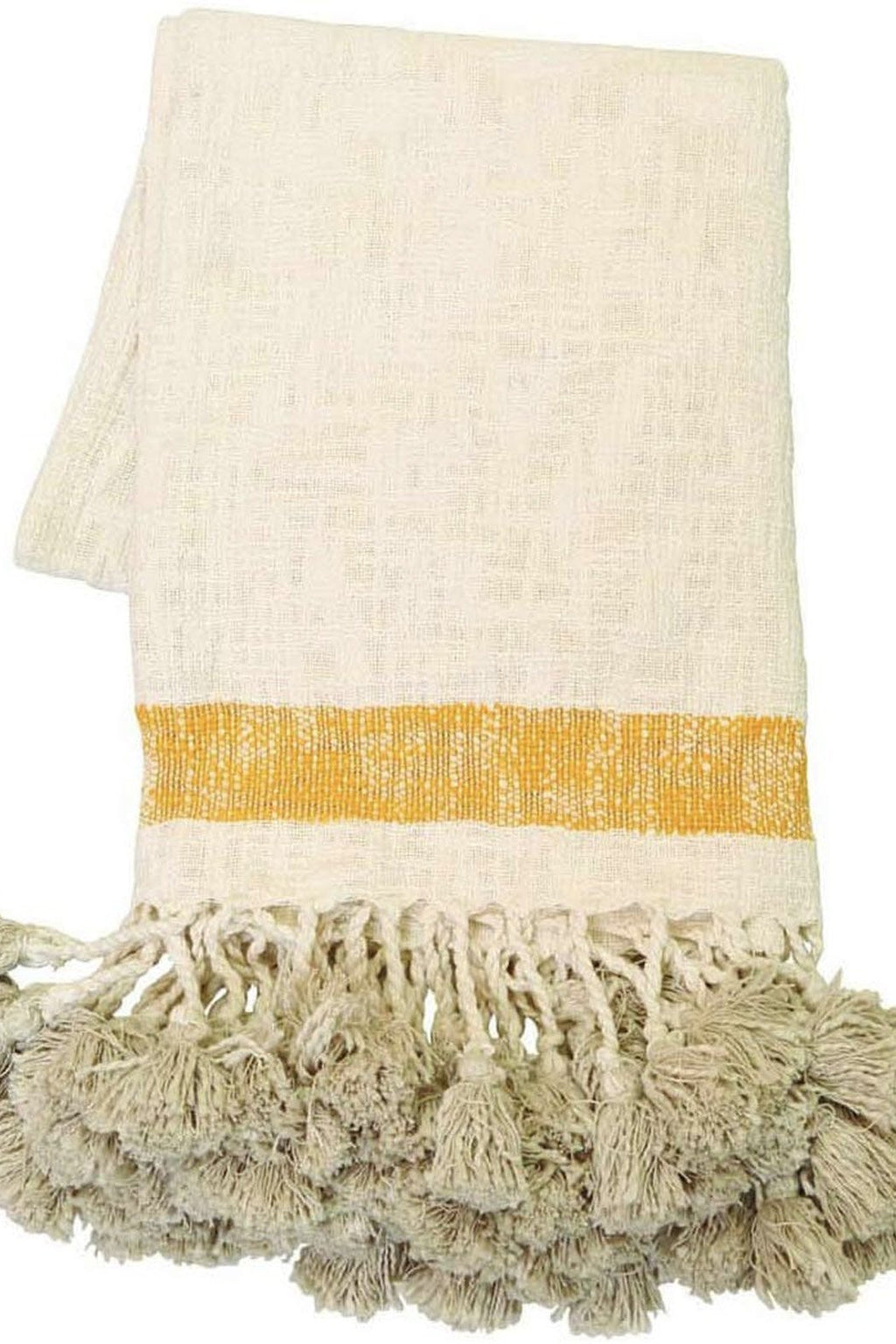 EcoVibe Style - Hand Woven West Throw, Pillows + Throws