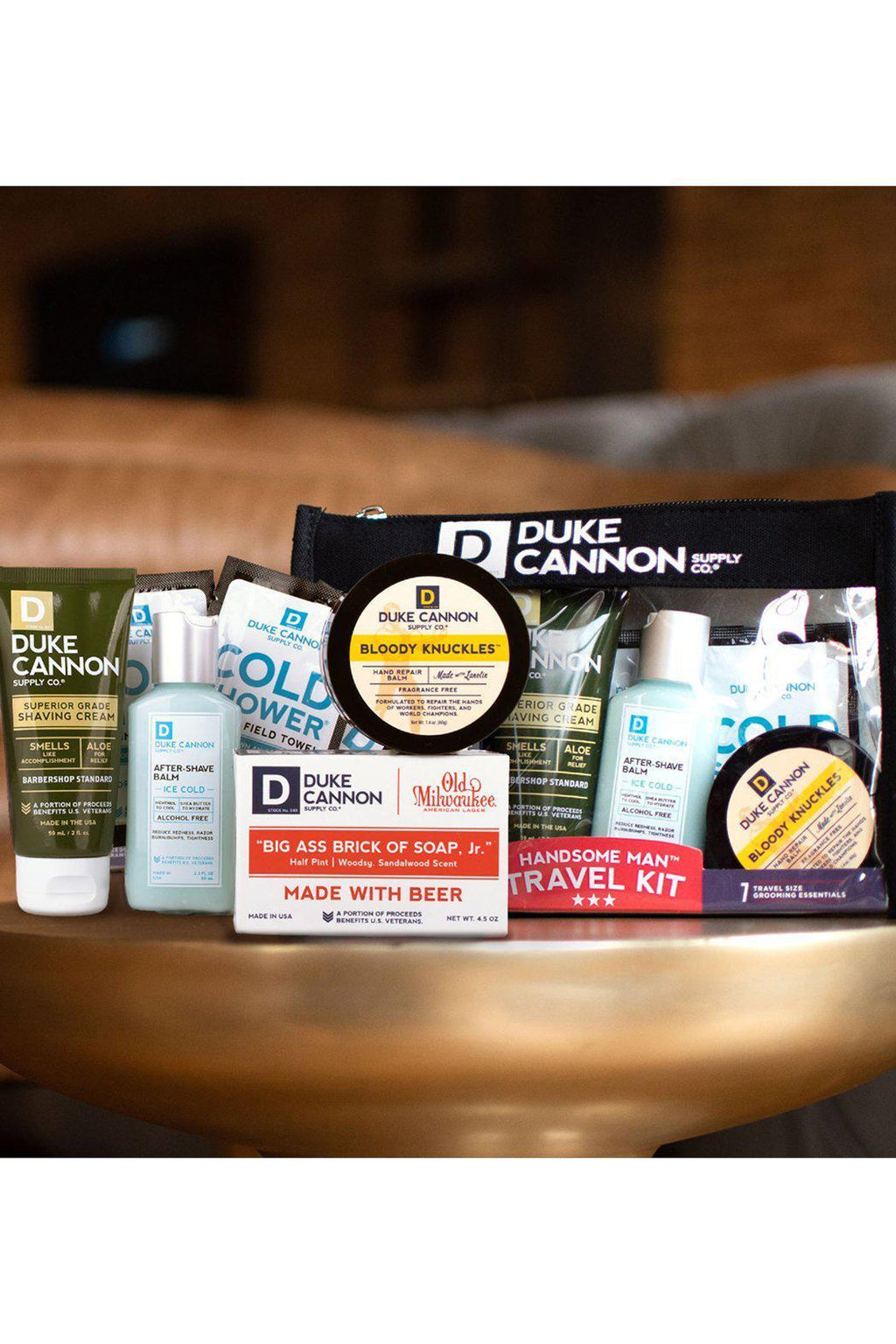EcoVibe Style - Duke Cannon Handsome Man Travel Kit, Gifts