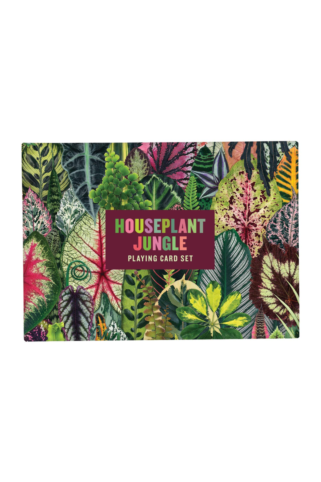 Chronicle Books Houseplant Jungle Playing Cards Set
