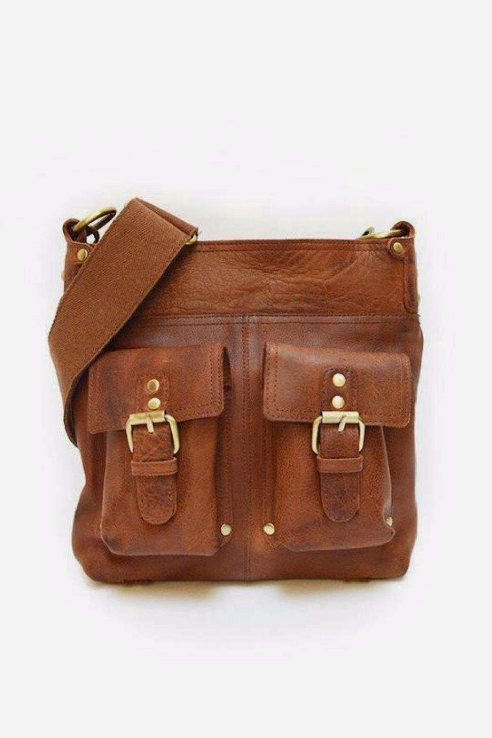 EcoVibe Style - Joan Leather Bag,