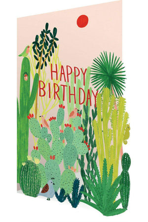 EcoVibe Style - Joshua Tree Laser Cut Card,