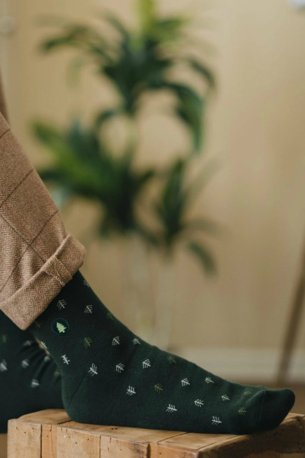 Conscious Step Socks that Plant Trees - Forest Green