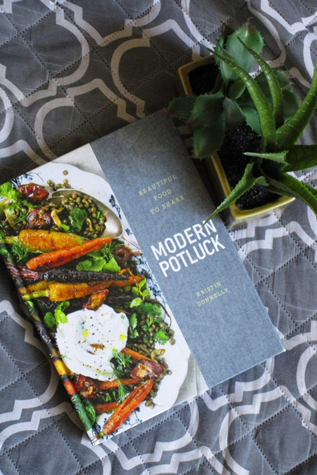 EcoVibe Style - Modern Potluck: Beautiful Food to Share Book by Kristin Donnelly, Book