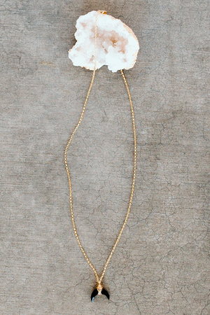 EcoVibe Style - Moonbeam Necklace,